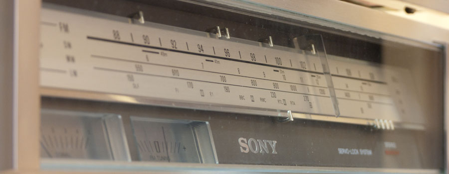 Sony Stereo Tuner ST 313L